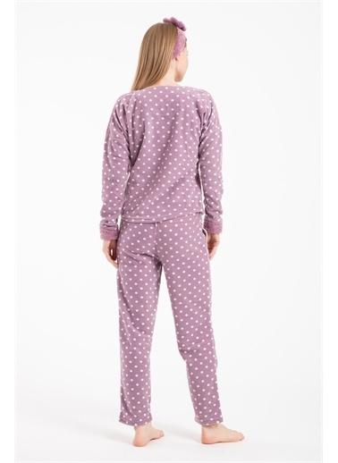 Pemilo Pijama Takım Lila